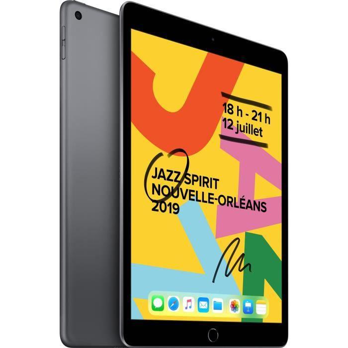 Apple – 10,2″ iPad (2019) WiFi 32Go – Gris Sidéral