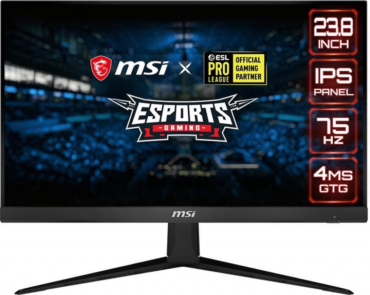 MSI Optix G241V – Full HD IPS Gaming Monitor – 24 inch (75hz)