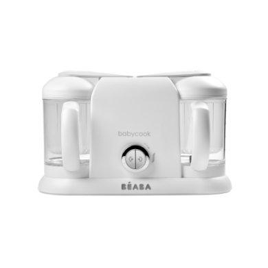 BEABA Keukenmachine Babycook® Plus 4 – in 1 wit / zilver