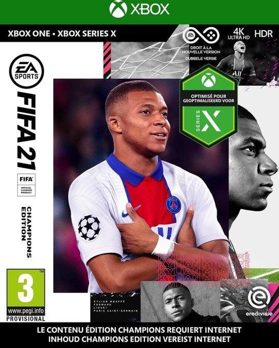 FIFA 21 – Champions Edition – Xbox One & Xbox Series X
