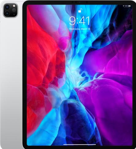 12.9-inch iPad Pro Wi-Fi – Tablet – 128 GB – 12.9″ IPS (2732 x 2048) – 4de generatie – zilver – A-keuze