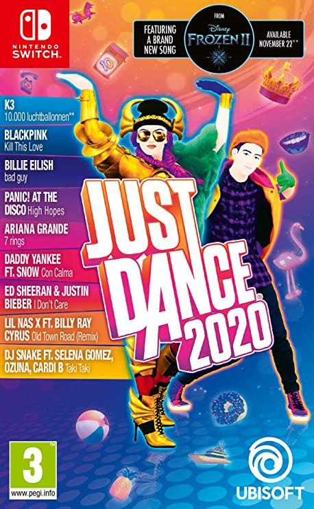 """Just Dance 2020 (Inclusief """"10.000 Luchtballonnen"""" Van K3) (Nintendo Switch)"""
