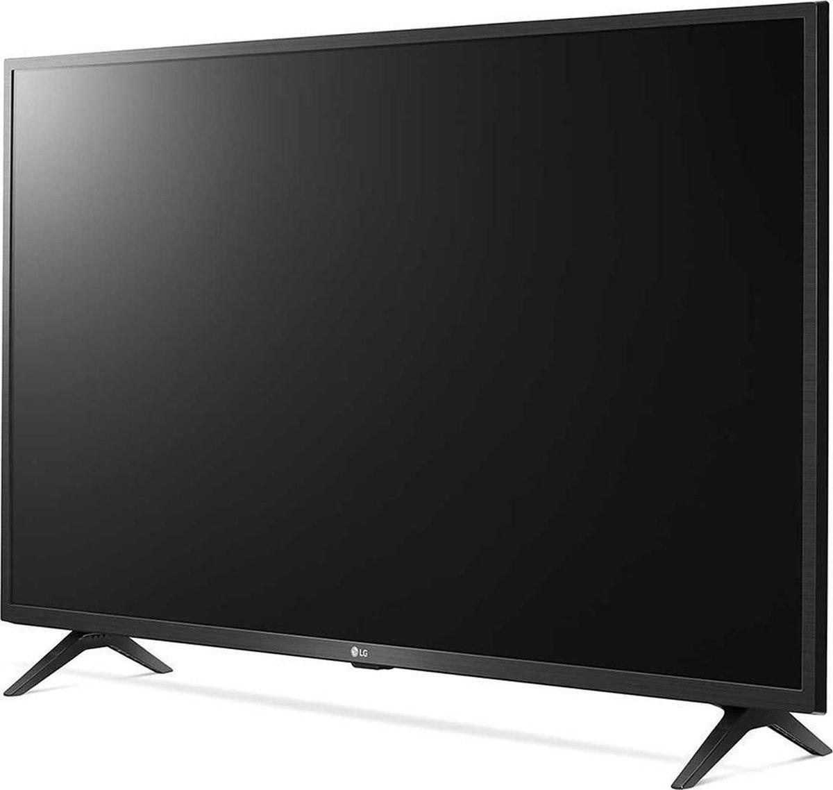 LG 43UN73003LC tv 109,2 cm (43″) 4K Ultra HD Smart TV Wi-Fi Zwart