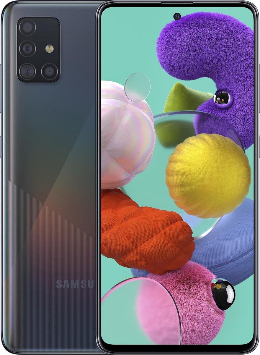 Samsung Galaxy A51 – 128GB – Zwart