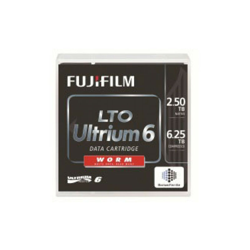 LTO Ultrium 6 WORM – LTO – 2500 Go – 6,25 Go (16310756) – Fujifilm