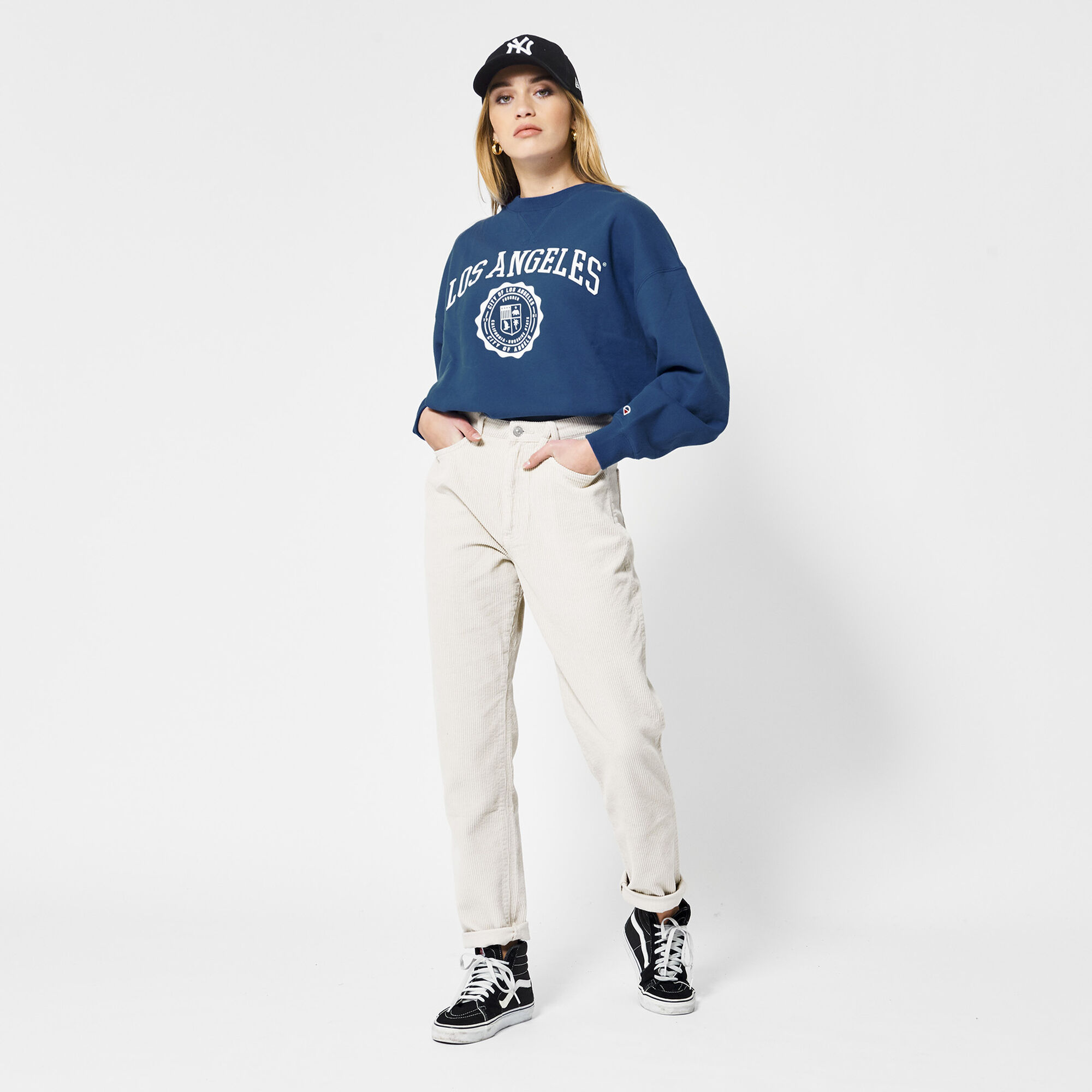 Mom Fit Jeans Corduroy