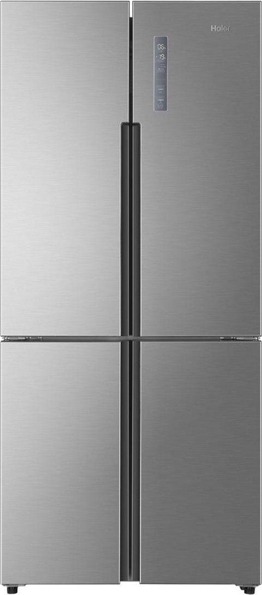 Haier HTF-452DM7 – Amerikaanse koelkast – Grijs