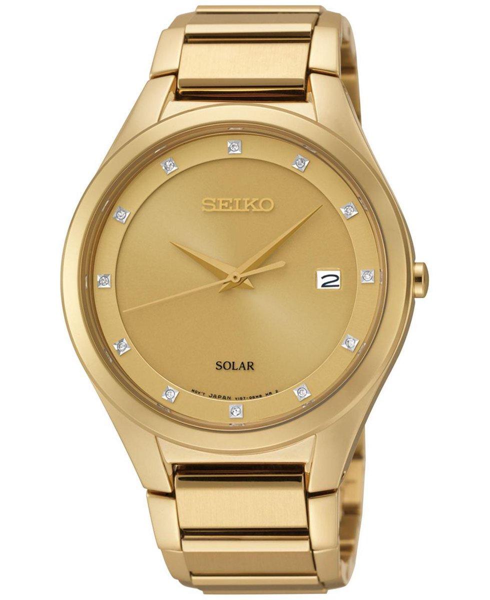 Seiko SNE384P9 – Heren – Horloge – 39 mm