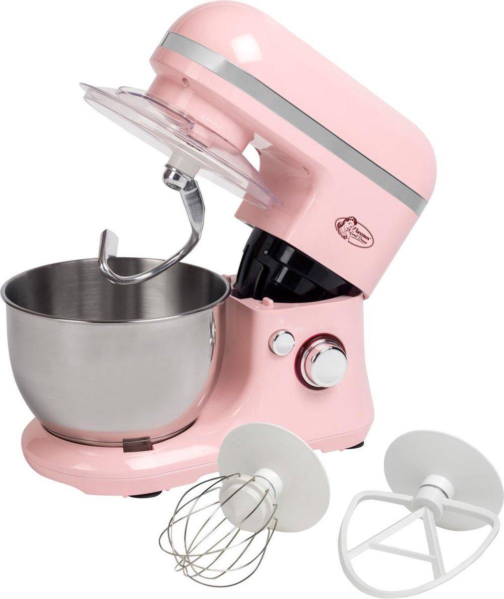 Bestron AKM900SDP – Keukenmachine – Roze