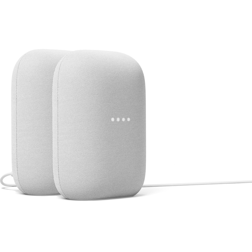 Google Nest Audio Chalk Duo Pack