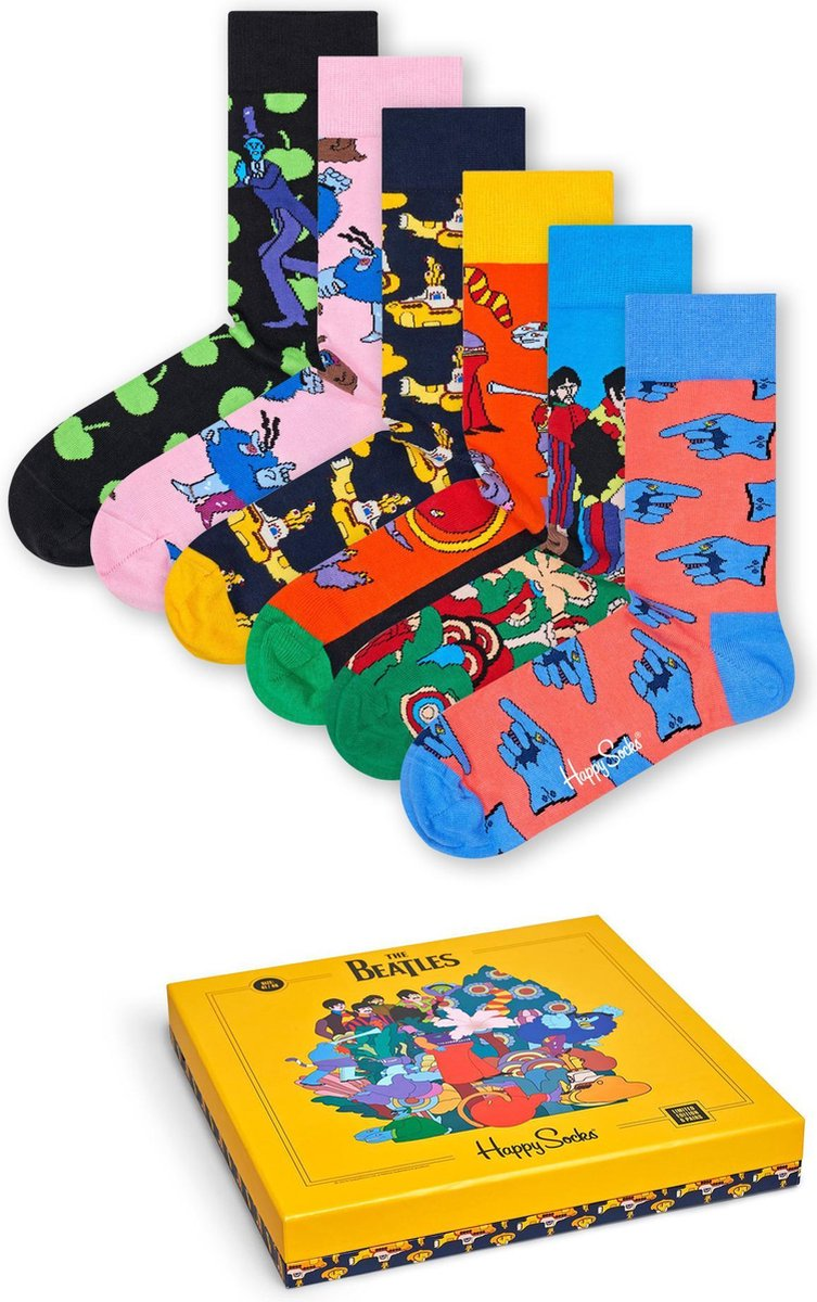 Happy Socks The Beatles Collector Giftbox – Maat 41-46
