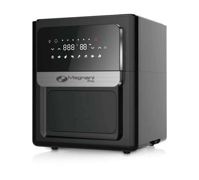 XXXL Airfryer van Magnani (12 liter inhoud) l Multifunctioneel; je kan ermee frituren, grillen, bakken, braden en roosteren