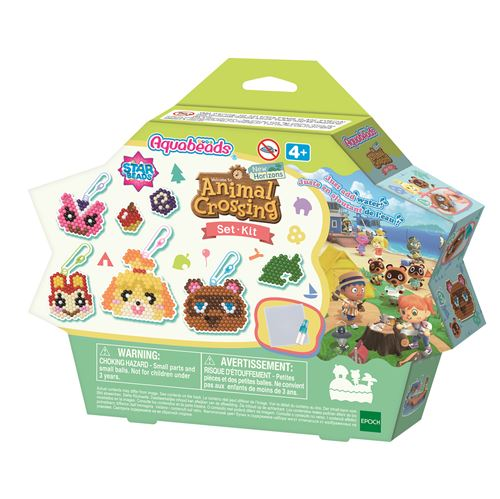 Perles Aquabeads Le Kit Animal Crossing New Horizons