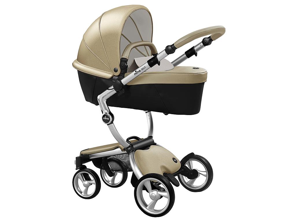 Mima Xari Aluminium Frame – Champagne – Kinderwagen