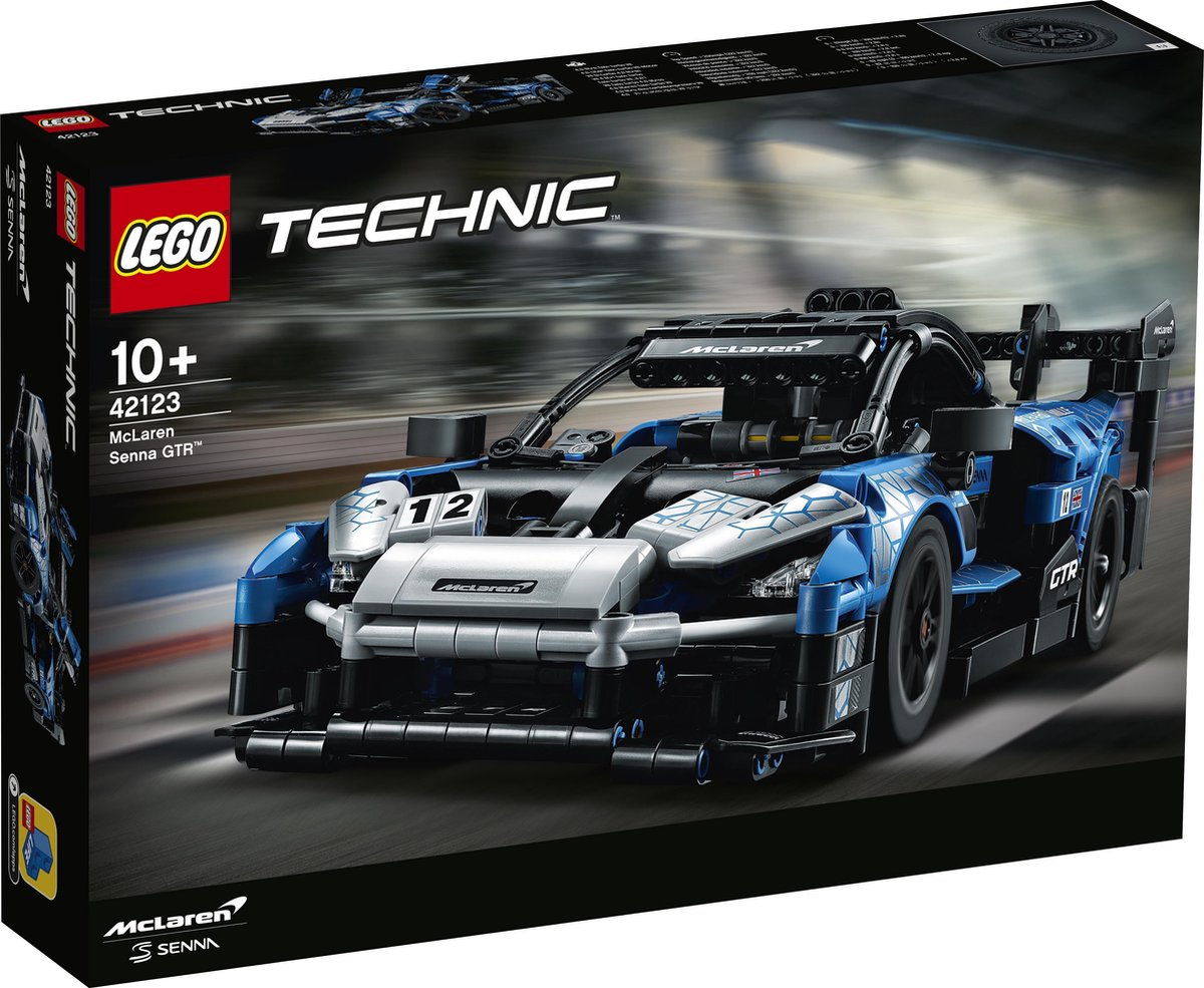 LEGO Technic McLaren Senna GTR – 42123