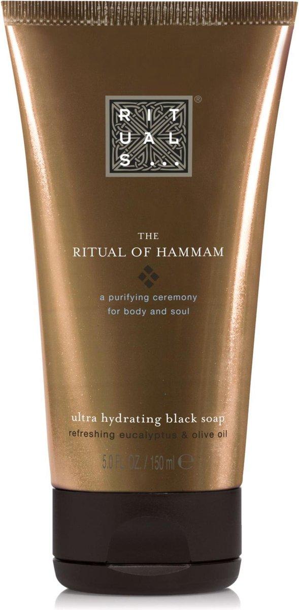 RITUALS The Ritual of Hammam Black Soap, zwarte zeep 150 ml