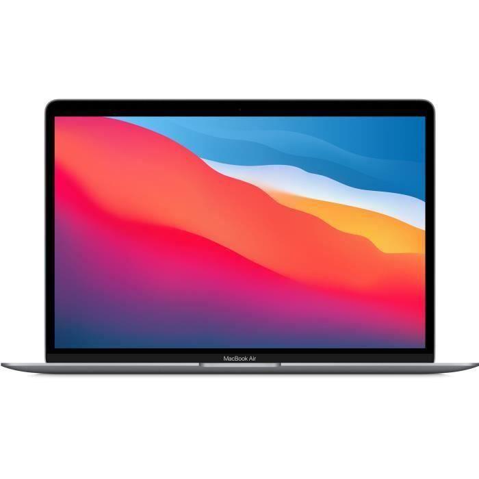 Apple – 13,3- MacBook Air (2020) – Puce Apple M1 – RAM 8Go – Stockage 256Go – Gris Sidéral – AZERTY