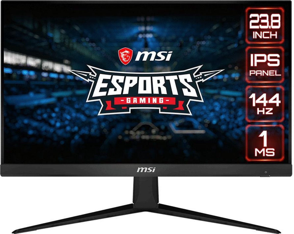 MSI Optix G241 – Full HD IPS Gaming Monitor – 24 inch (144hz)