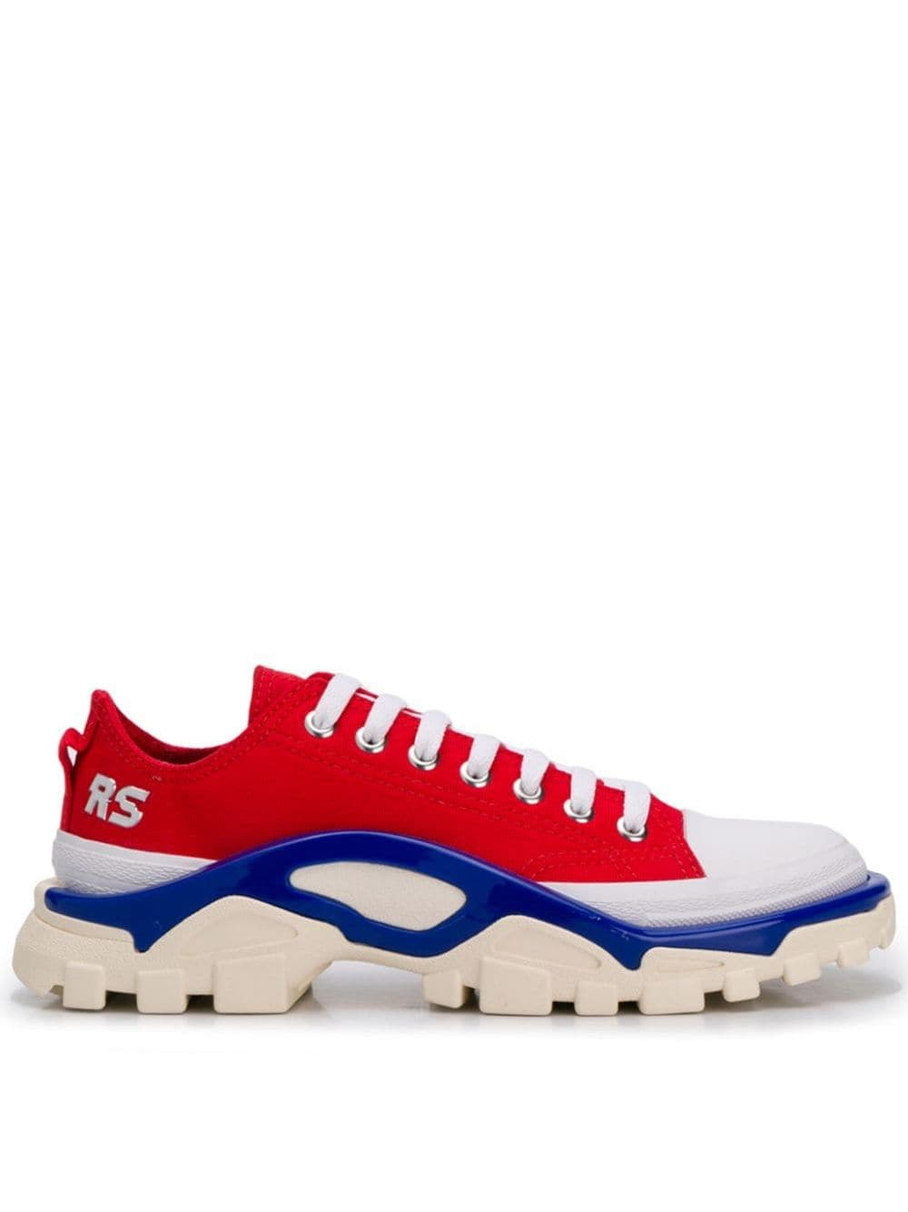 adidas by Raf Simons Detroit Runner sneakers – Rood