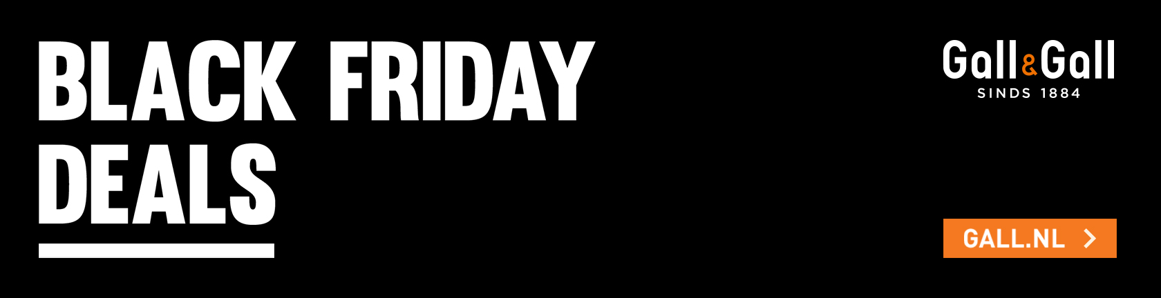 Black Friday deals bij Gall & Gall ga naar Gall.nl
