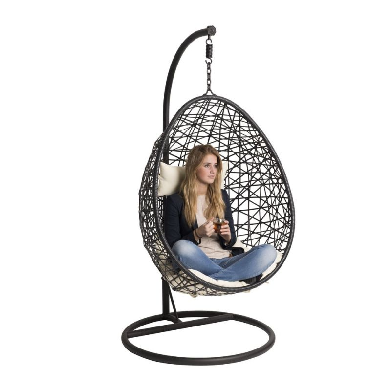 Hangstoel Swing – zwart