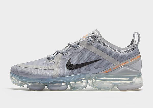 Nike Air VaporMax 2019 – Grey/Orange/Black – Heren