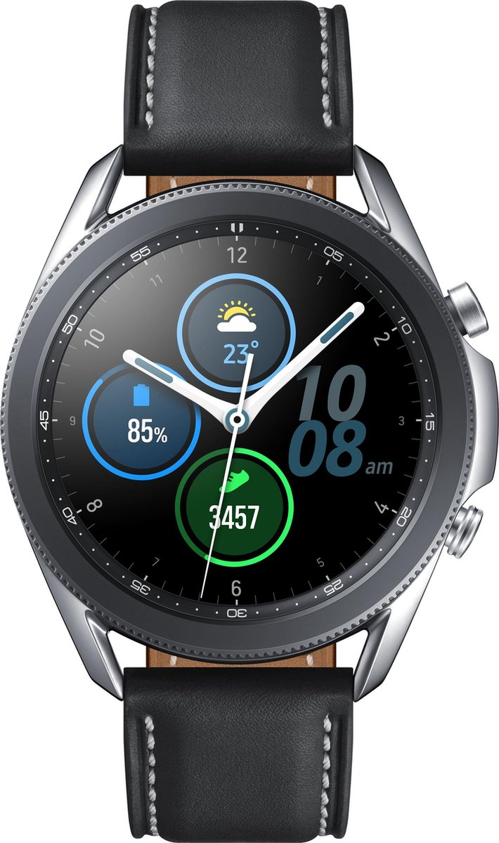 Samsung Galaxy Watch3 – Smartwatch – Stainless Steel – 41mm – Zilver