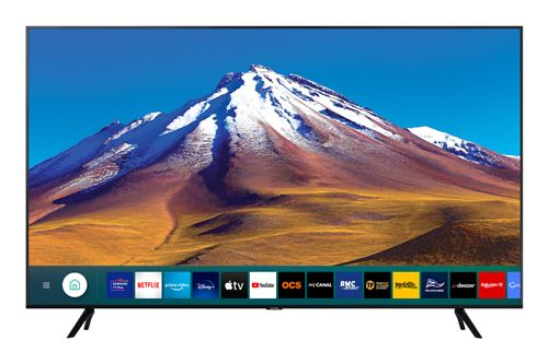 TV Samsung 43TU7025 43″ 4K Crystal UHD Smart TV Noir