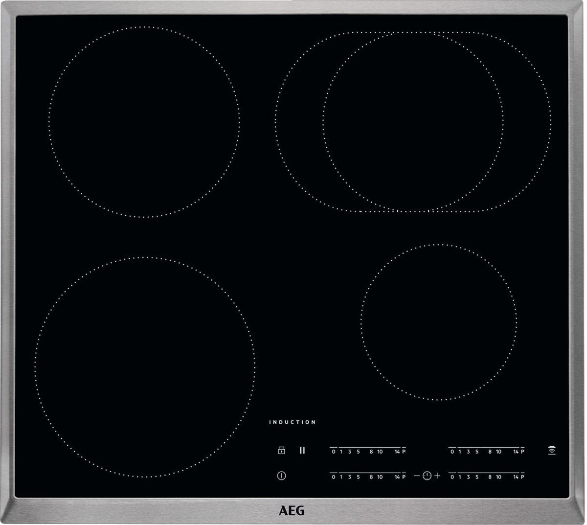 AEG IKB64411XB Inductie inbouwkookplaat Zwart