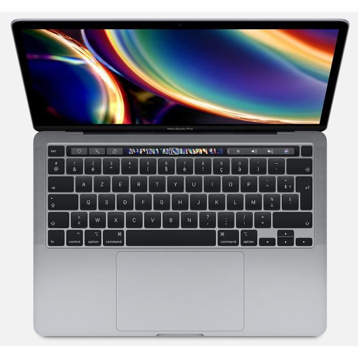 Apple – 13,3″ MacBook Pro Touch Bar (2020) – Intel Core i5 – RAM 8Go – Stockage 512Go – Gris Sidéral