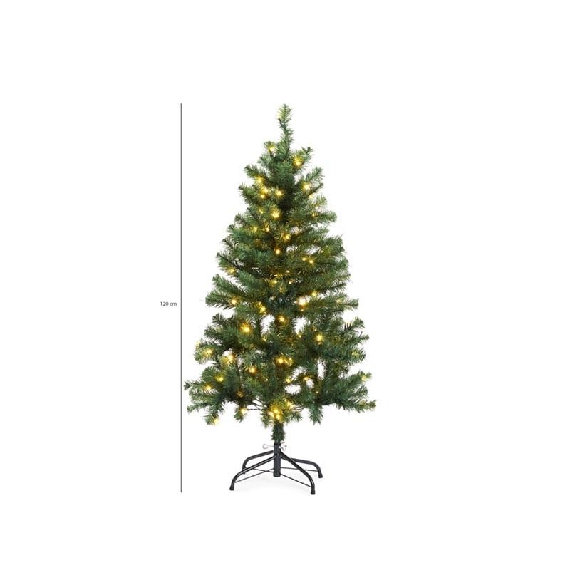 Kunstkerstboom met 120 LED Lampjes | Kies uit variant van 120 of 150 cm hoogte