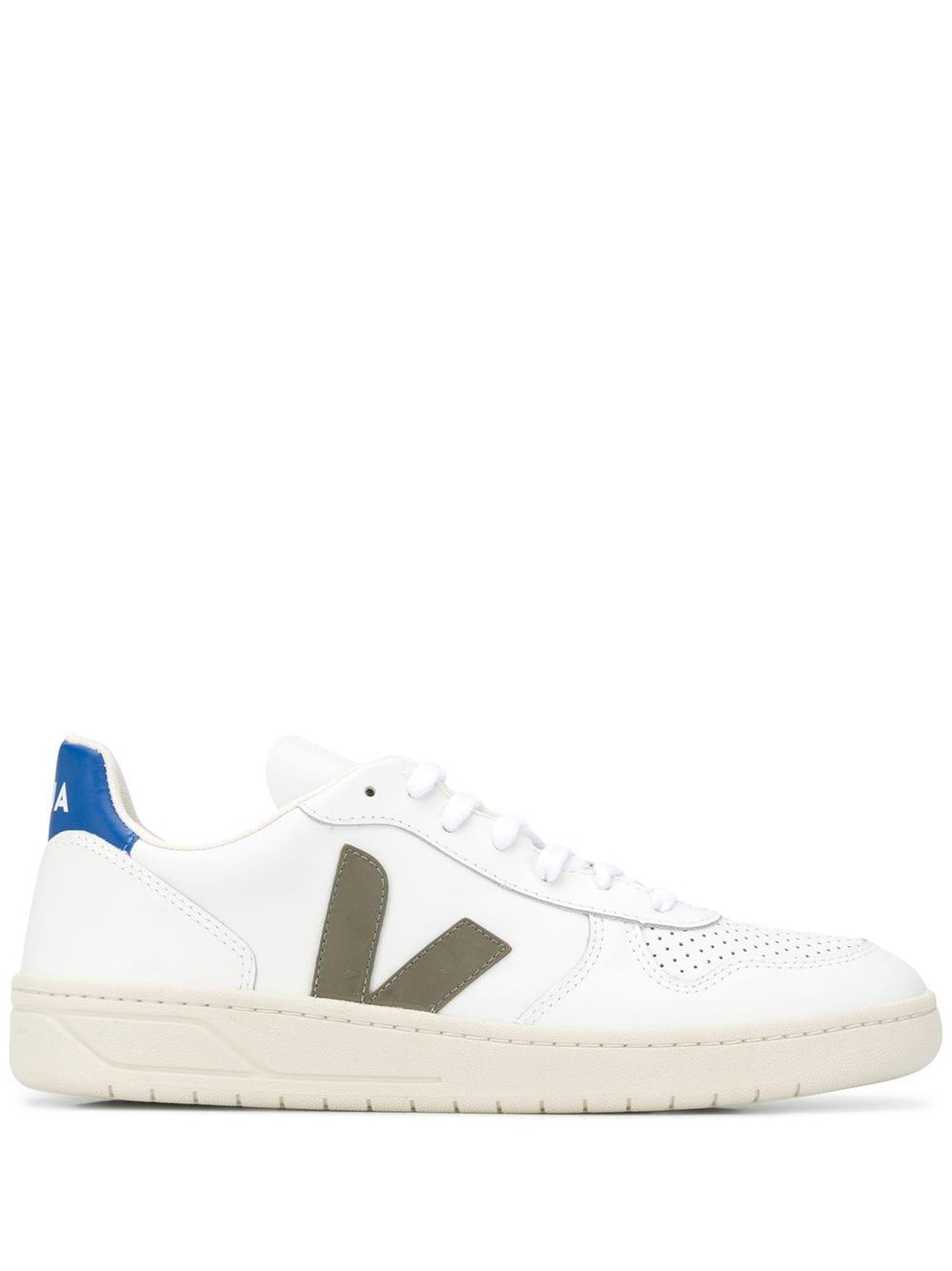 Veja Sneakers met logo – Wit
