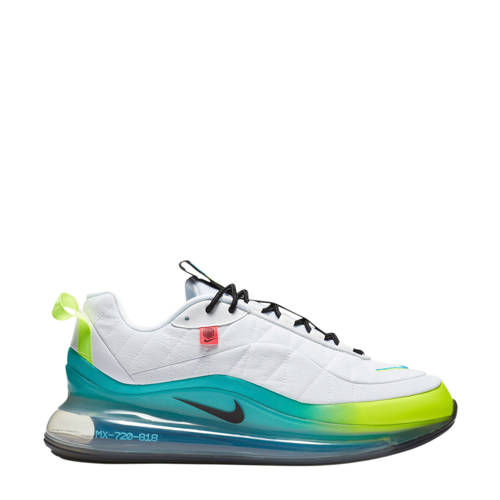 Nike MX-720-818 sneakers wit/zwart/geel/aqua