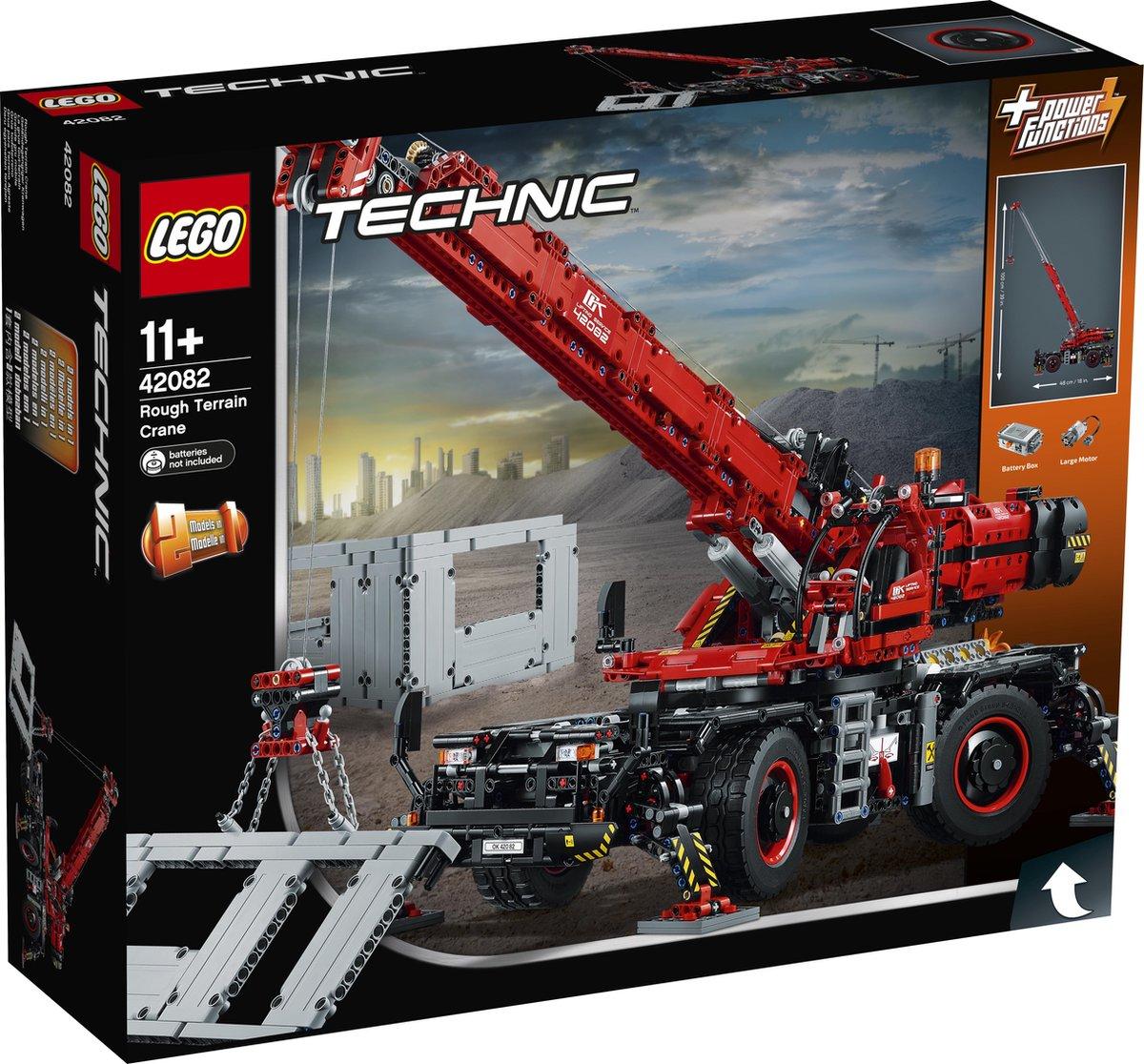 LEGO Technic Kraan voor alle Terreinen – 42082