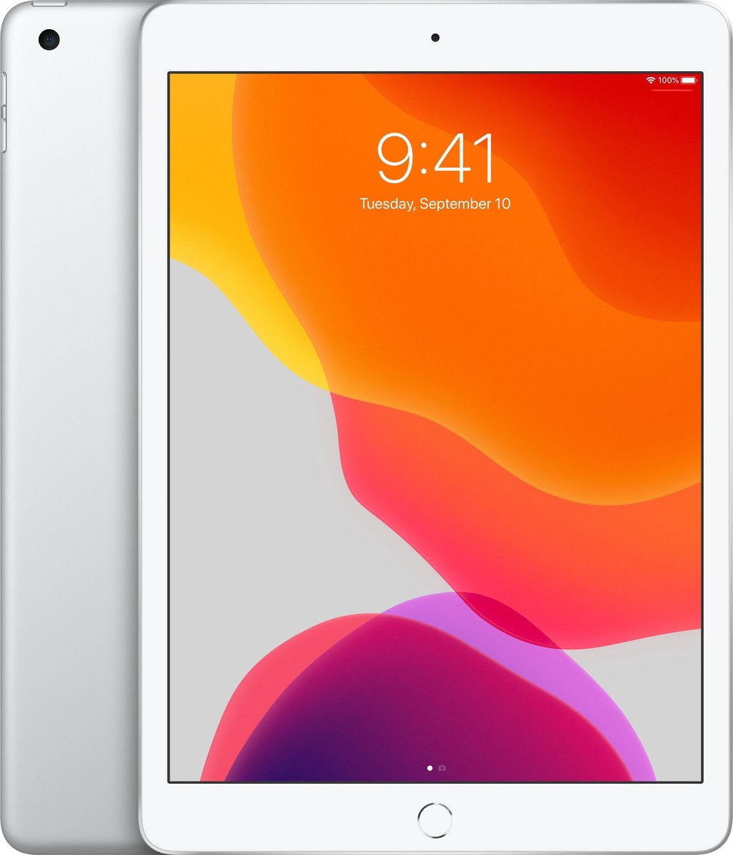 Apple iPad (2019) – 10.2 inch – WiFi – 128GB – Zilver
