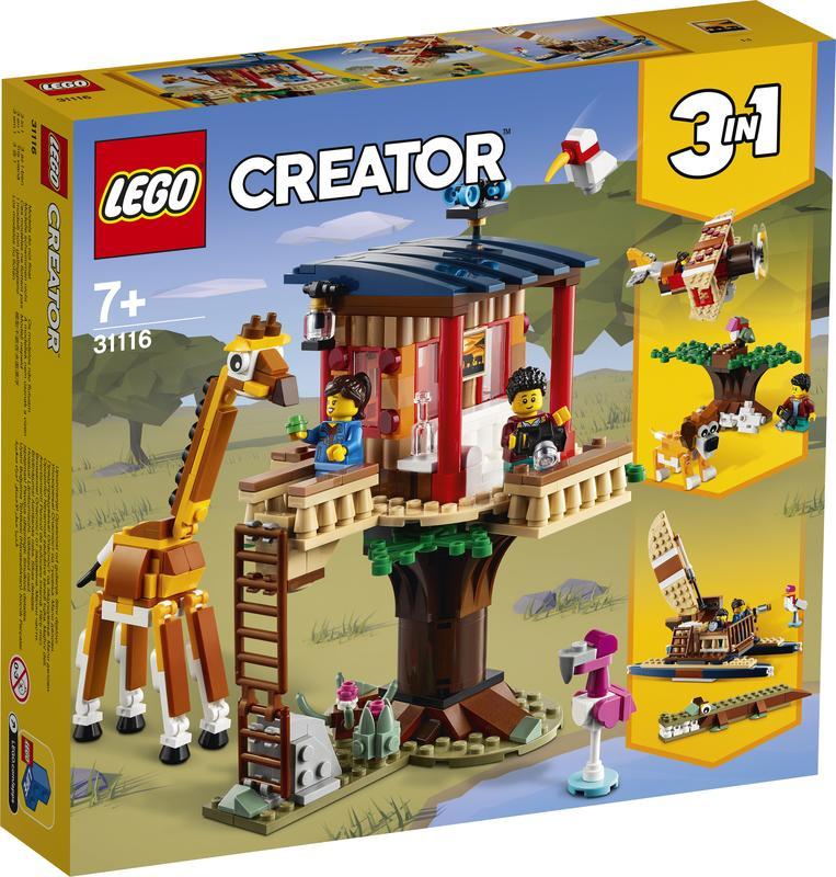 LEGO LEGO Creator Safari wilde dieren boomhuis (31116)