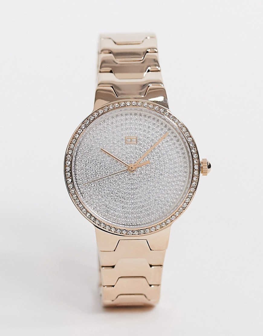 Tommy Hilfiger – Avery – Horloge in diamante-Goud