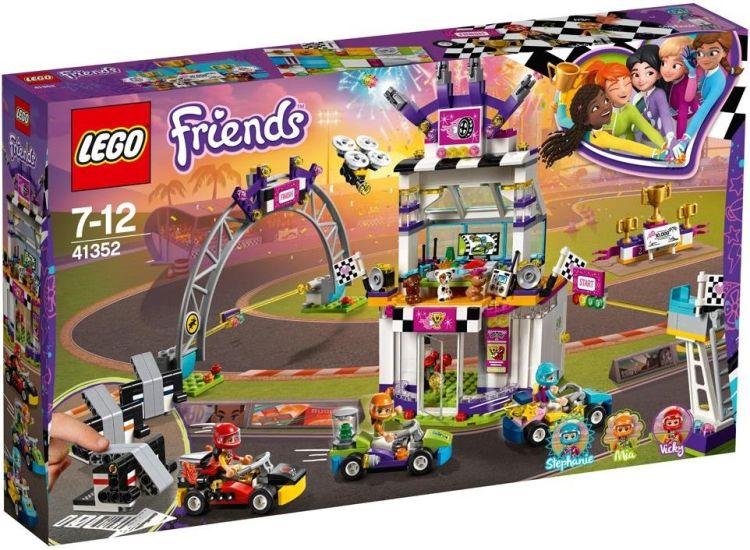 LEGO Friends – De grote racedag 41352
