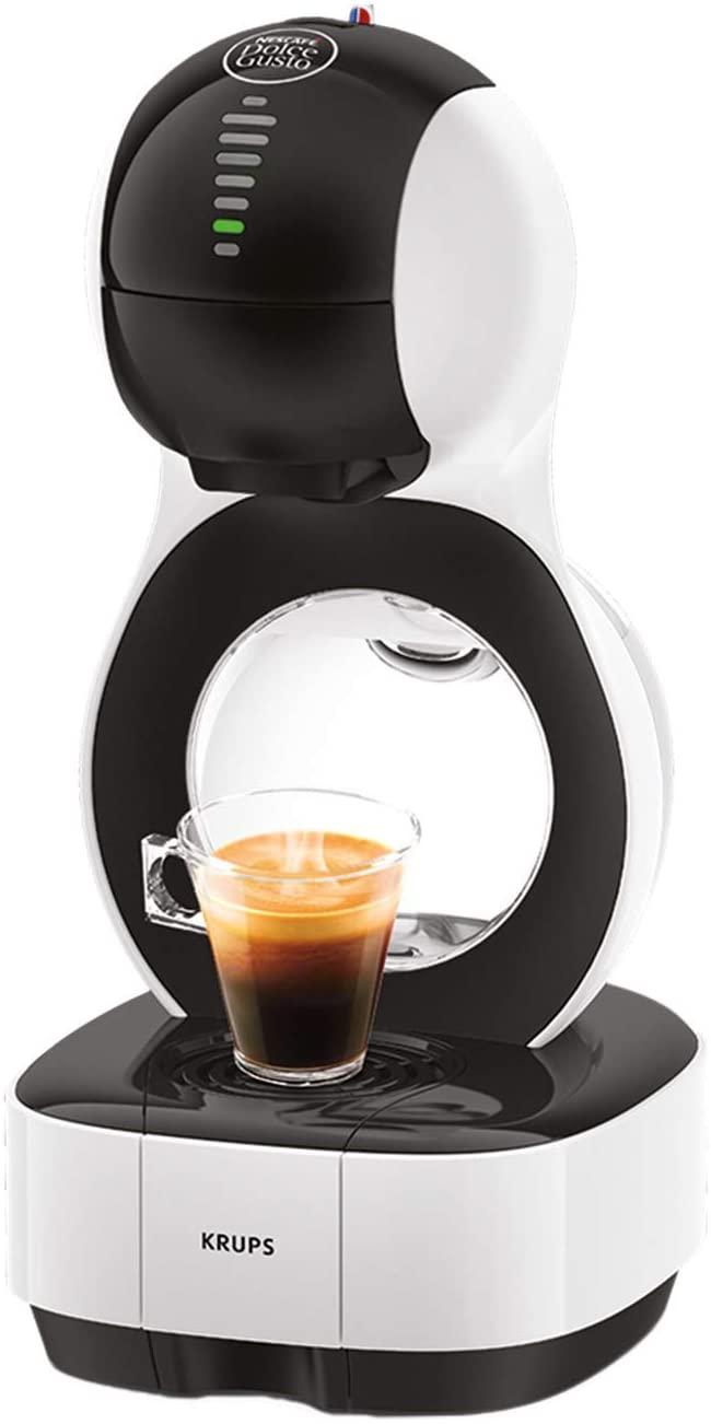 Krups KP1301 Nescafé Dolce Gusto Lumio Capsule Koffiezetapparaat, 1600 W, 1 L, Wit