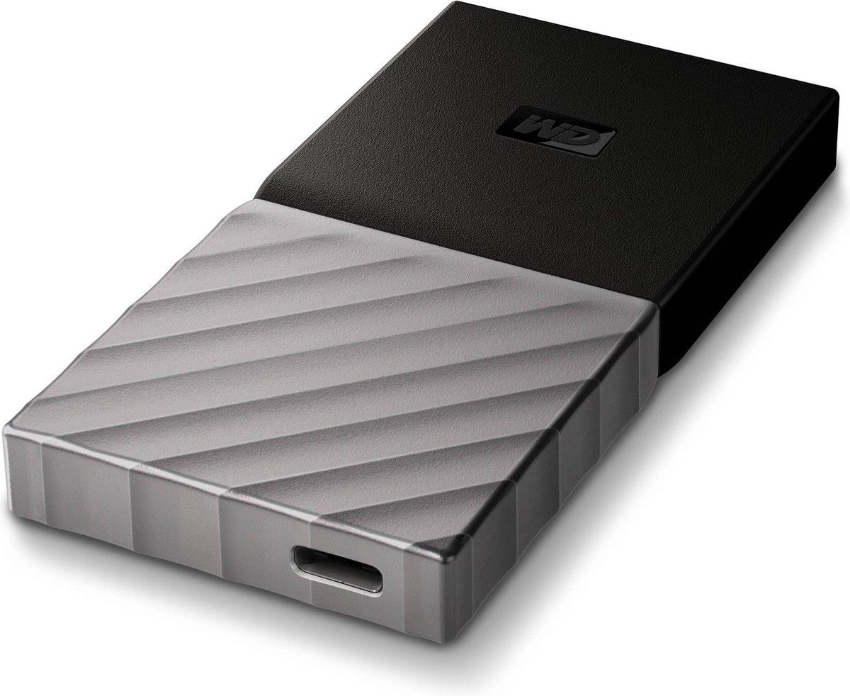 WD – Western Digital My Passport SSD Portable 256GB, USB 3.0, silver