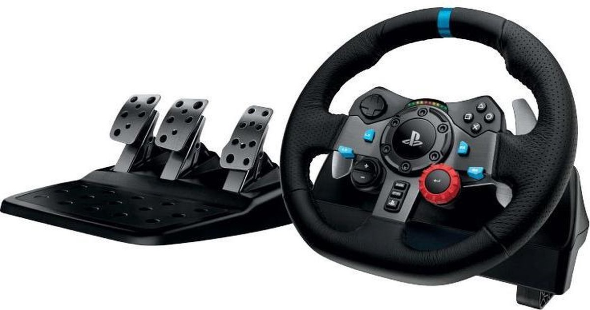 Logitech G29 Driving Force – Racestuur + pedalen – Playstation & PC