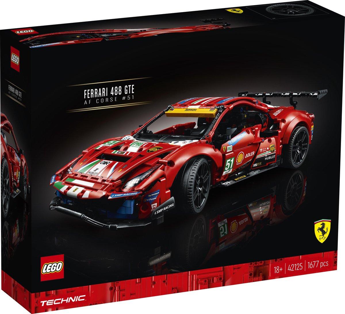 LEGO Technic Ferrari 488 GTE AF Corse #51 – 42125