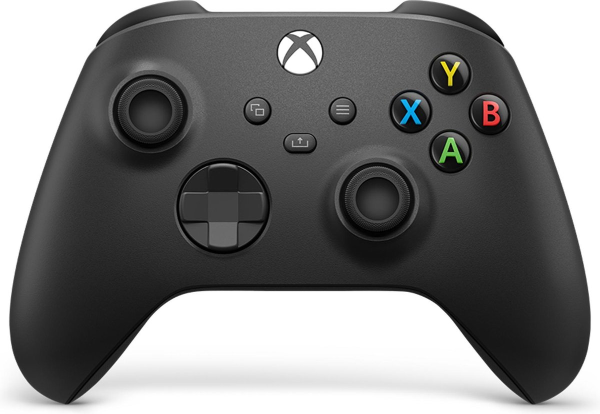 Xbox Draadloze Controller – Carbon Zwart – Series X & S – Xbox One