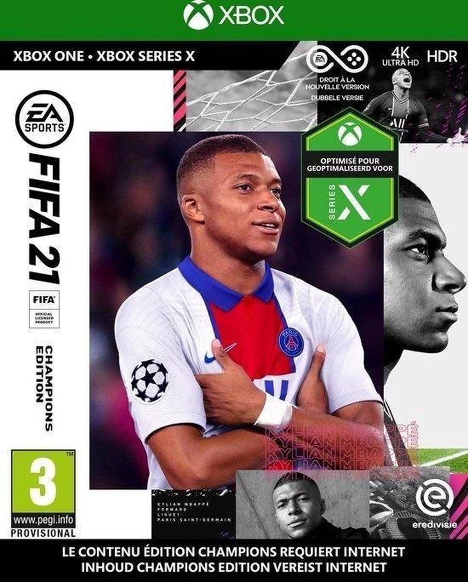 Microsoft Xbox One Spiel Fifa 21 Champions Edition (USK 0)