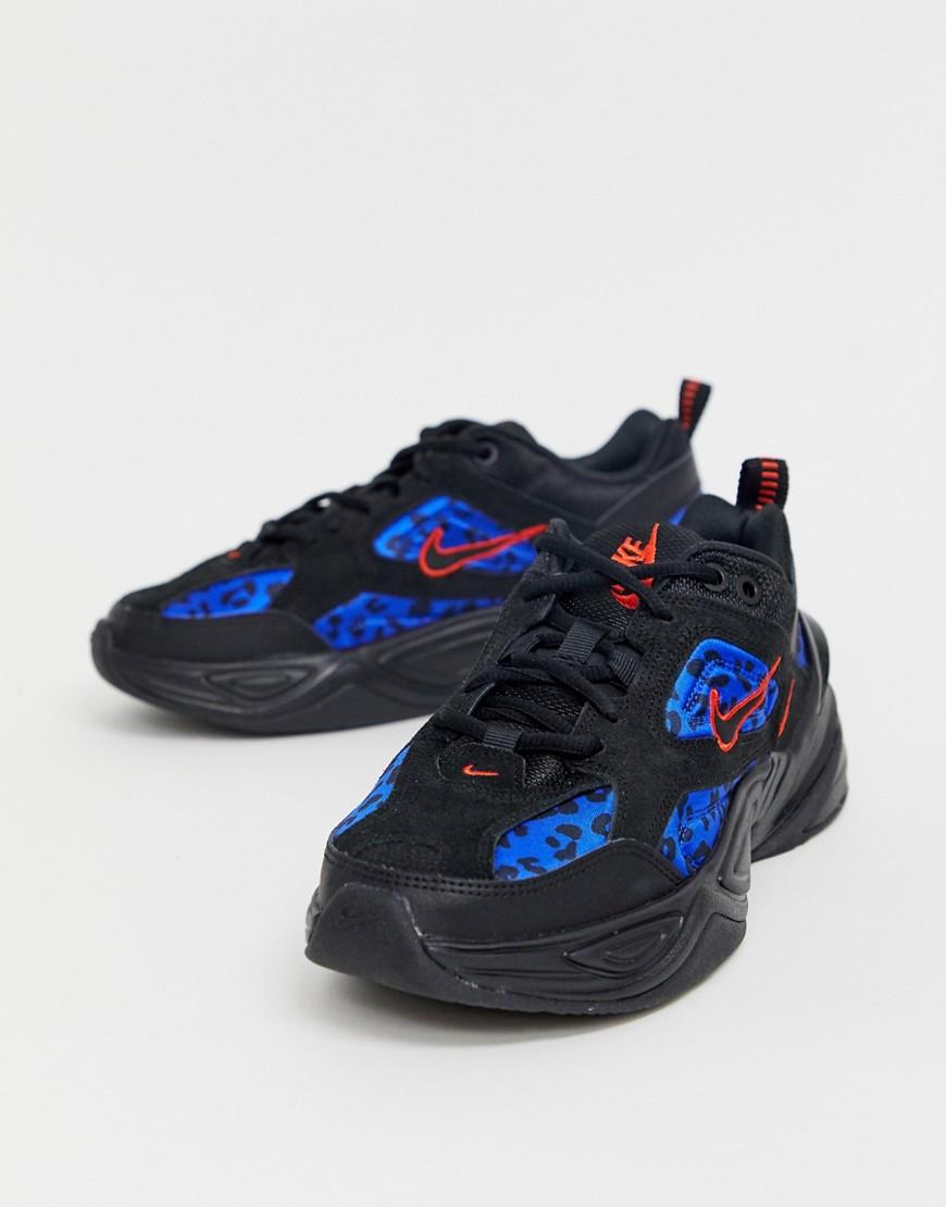 Nike – M2K Tekno sneakers met dierenprint-Multi