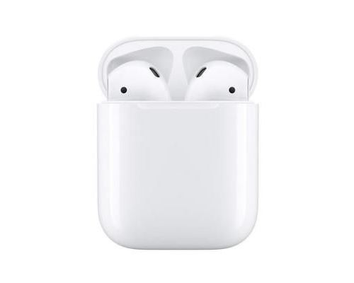 Apple AirPods with Charging Case – 2nd Generation – werkelijk draadloze koptelefoon met micro – oordopje – Bluetooth – voor iPad/iPhone/iPod/TV/Watch