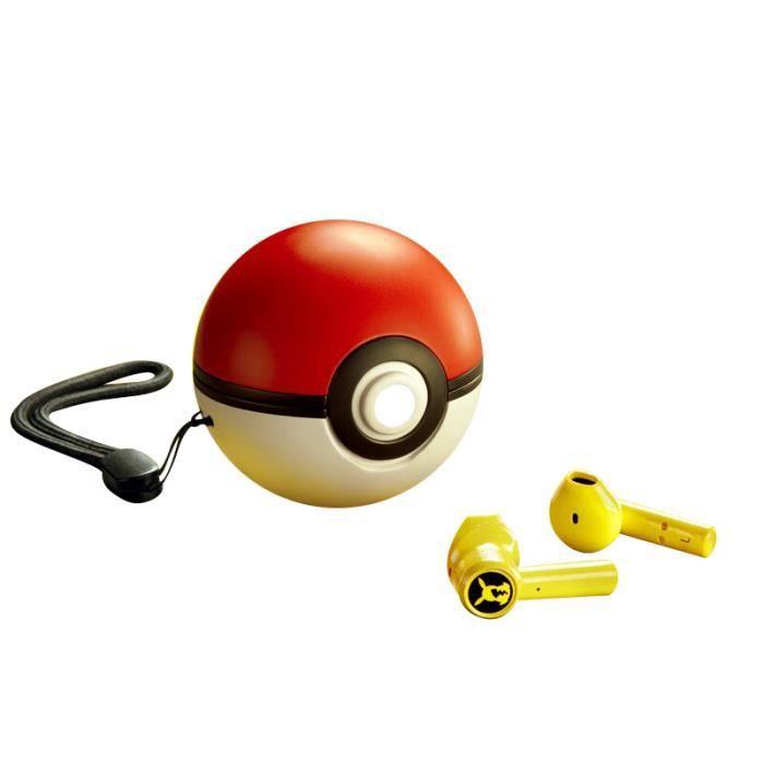 Razer – écouteurs sans fil à tête marteau Pikachu, casque d'écoute, édition limitée, commande tactile, Bluetooth 5.0