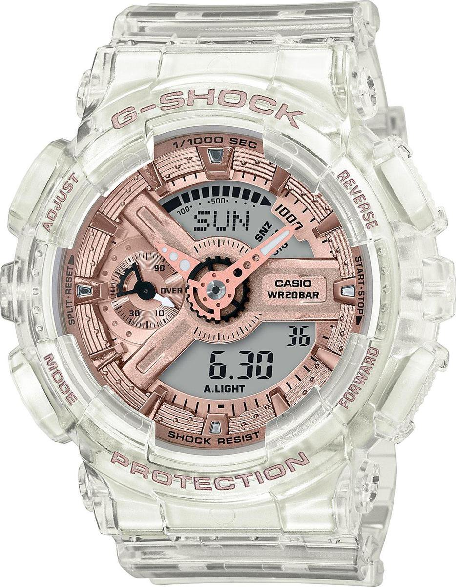 Casio G-Shock – GMA-S110SR-7AER – Dames – Horloge – 45 mm