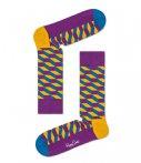 Happy Socks Sokken Filled Optic Socks Paars