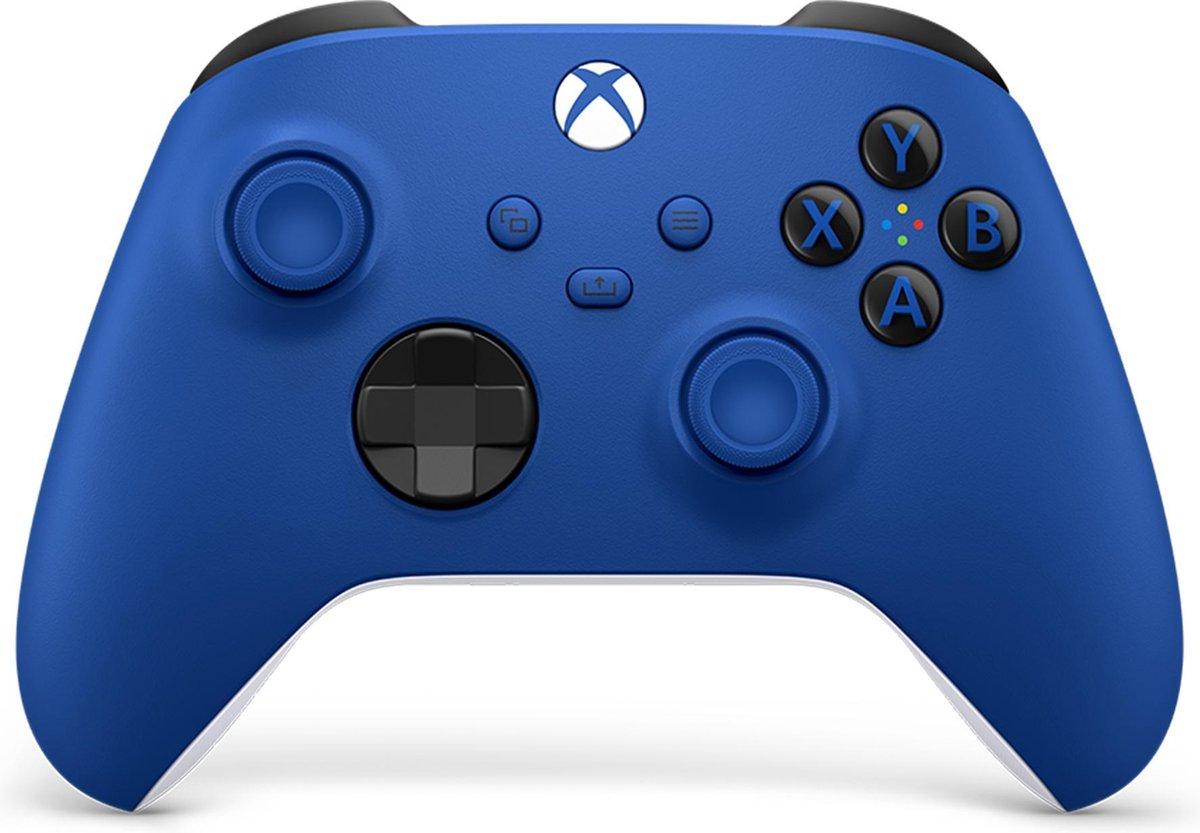Xbox Draadloze Controller – Blauw – Series X & S – Xbox One